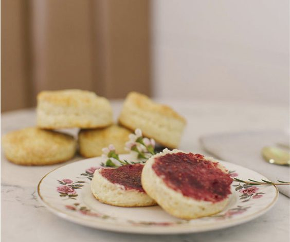 Garden Grove Café - Biscuits and Jam